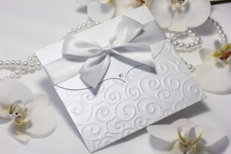 pozivnice za vjencanje s bijelom masnom i reljefom (3)