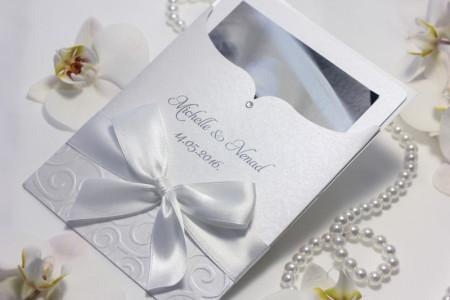 zahvalnice za vjencanje etui s bijelom mašnom (3)